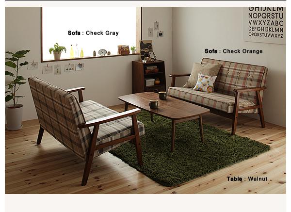 人気のソファ&ローテーブルセット【Glanta】グレンタ 北欧スタイル ソファ単品 テーブル単品