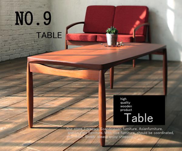 おしゃれな人気テーブル【NO.9】ナンバーナイン テーブル・アンティークテーブル・レトロな雰囲気
